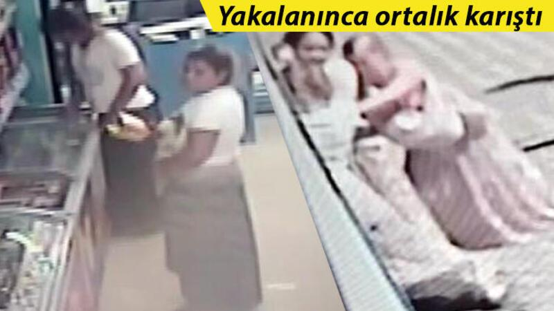Esenyurt'ta kadınların ilginç hırsızlık yöntemi