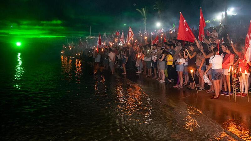 KKTC'de binler şafak nöbetinde
