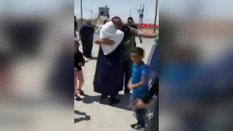 6 yıl sonra serbest kalan Filistinli genç ile annesinin duygulandıran buluşması