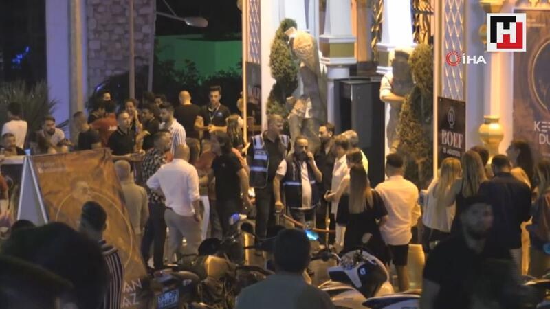 Dünyaca ünlü Gümbet barlar sokağına 300 polis bir anda girdi