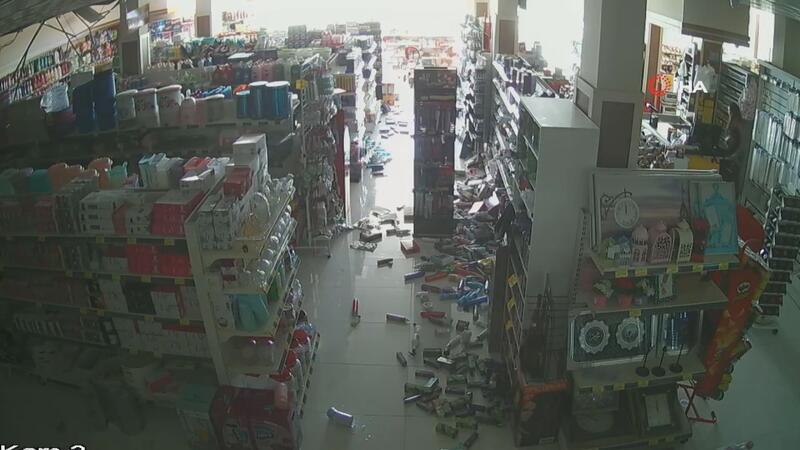 Denizli'deki deprem anının yeni görüntüleri ortaya çıktı