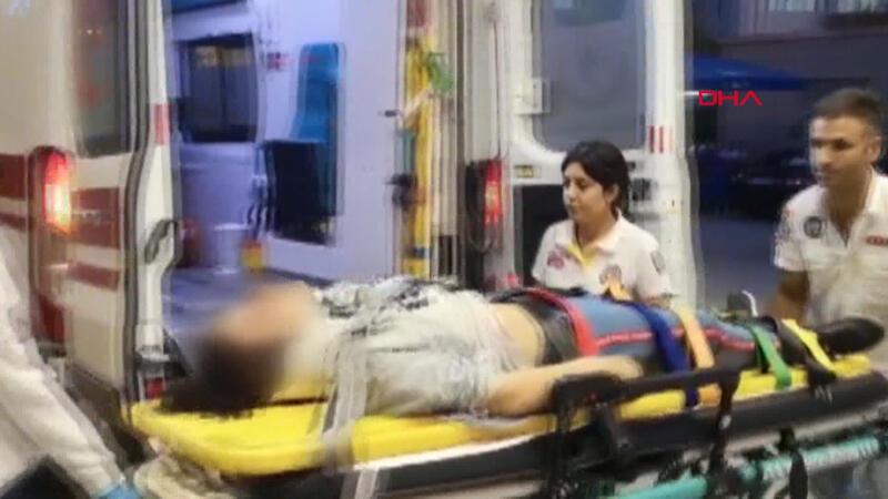 Kaza yapan kızını darbeden baba serbest bırakıldı
