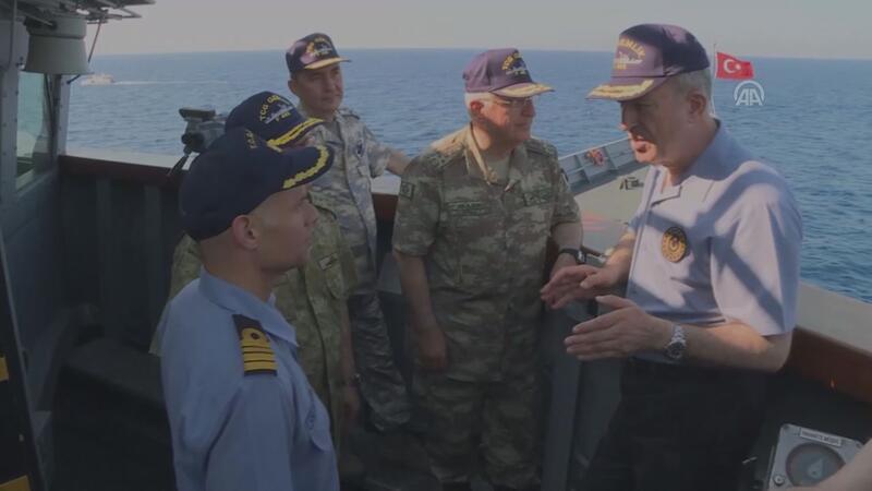 Milli Savunma Bakanı Hulusi Akar'dan Doğu Akdeniz mesajı
