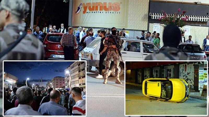 Turhal'da iki grup arasında kavga