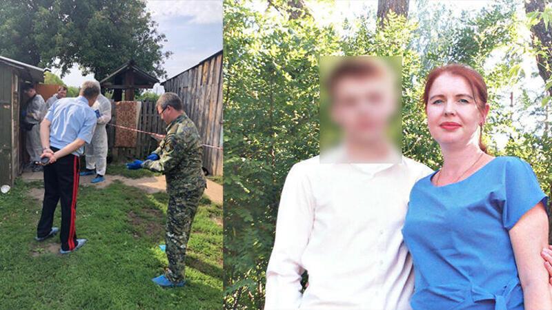 Rusya'da cinnet getiren çocuk ailesini balta ile öldürdü