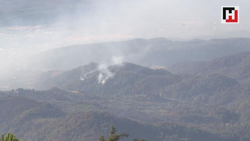 İzmir'deki yangın 3. gününde