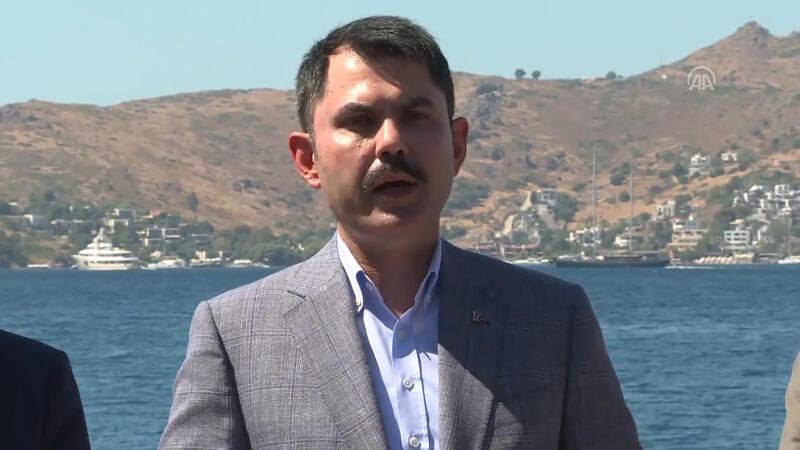 Bakan Kurum'dan Muğla'daki otel inşaatıyla ilgili açıklama