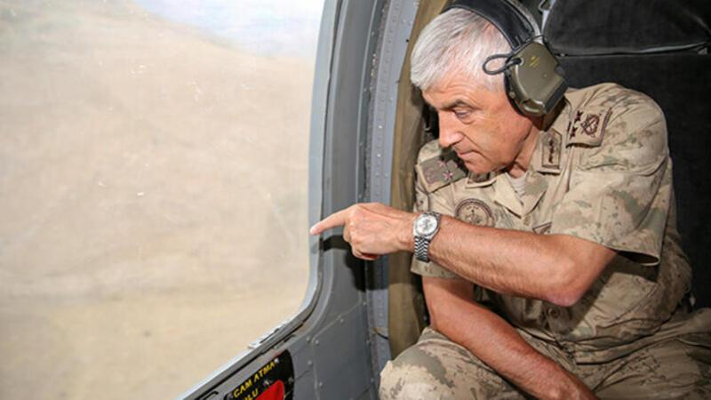 Jandarma Genel Komutanı Bulgurlu Dağı bölgesinde denetlemelerde bulundu