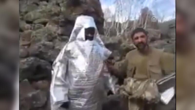 """""""Pusucu"""" terörist, jandarmanın pususuna düştü"""