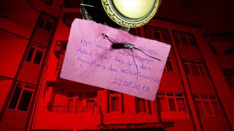İzmit'te çökme tehlikesi bulunan 2 bina için tahliye kararı verildi