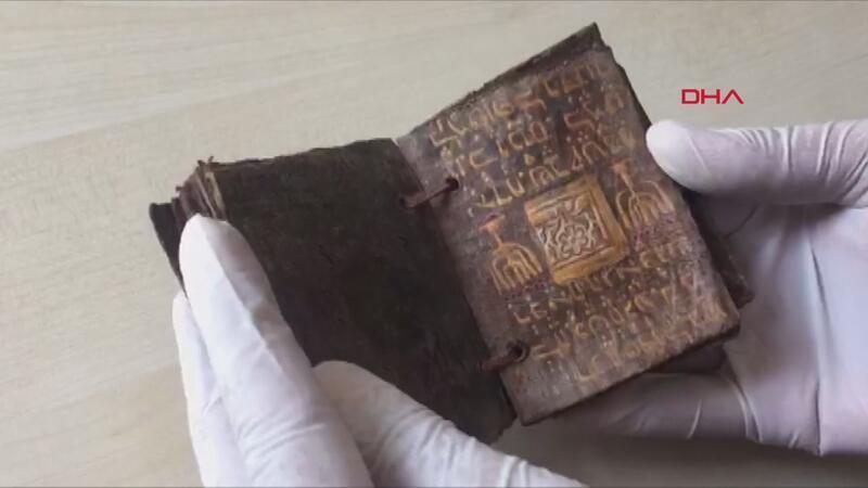 Tekirdağ'da 1500 yıllık Tevrat tefsiri ele geçirildi
