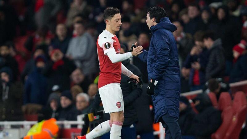 Emery'den Mesut Özil açıklaması