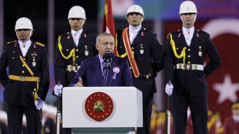Cumhurbaşkanı Erdoğan, Subay ve Astsubay Mezuniyet Töreni'ne katıldı
