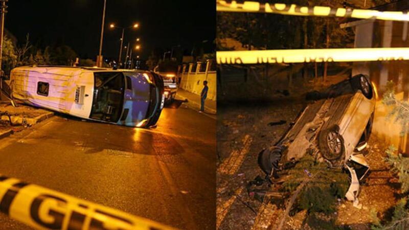 İzmir'de feci kaza kamerada