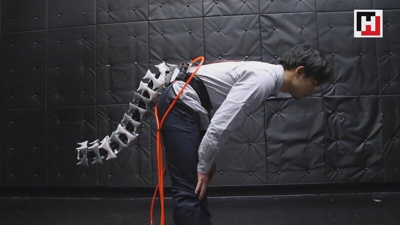 Japonlar, insan için denge kuyruğu üretti