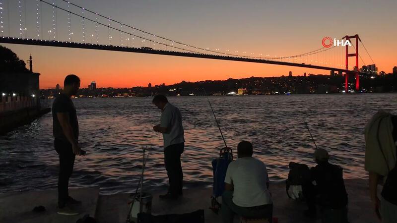 İstanbul'da büyüleyen görüntü