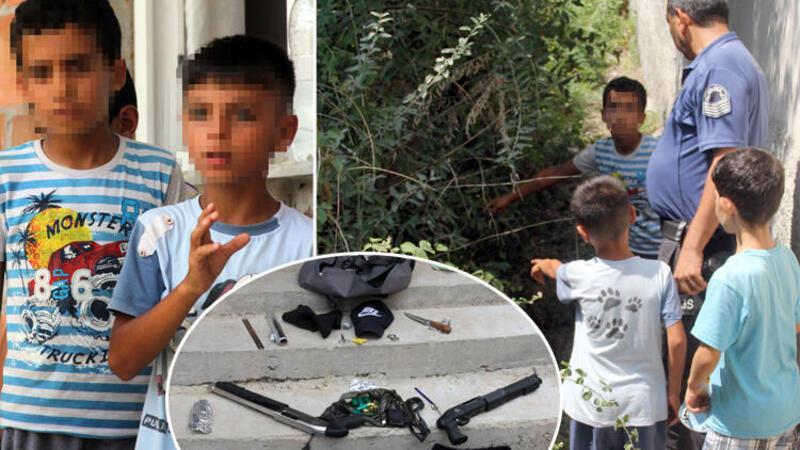Çocukların oynarken buldukları pompalı tüfekler faciaya neden oluyordu