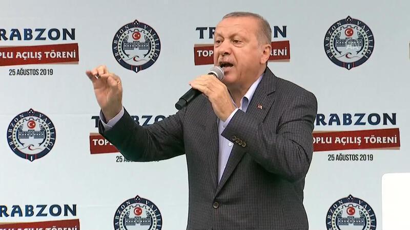 Cumhurbaşkanı Erdoğan'dan Trabzon'da önemli açıklamalar