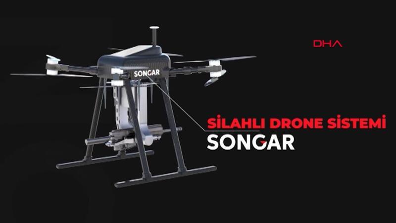 Silahlı 'Songar'a bombaatar entegre eklendi