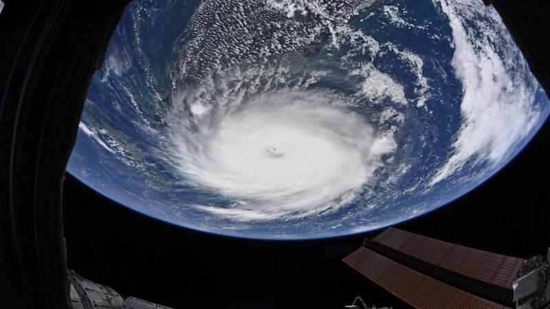 NASA, Dorian Kasırgası'nın yeni görüntüsünü yayınladı