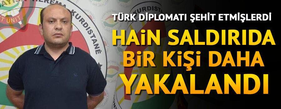 Erbilde Türk diplomata hain saldırıda bir kişi daha yakalandı