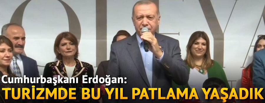 Cumhurbaşkanı Erdoğan Tonya'da otel açılışında konuştu